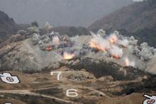 Kuzey Kore savaşa hazırlanıyor! İnanılmaz görüntüler