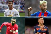 Ünlü futbolcuların boyları!