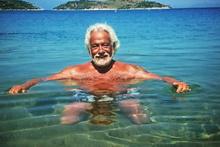 Yaz sezonu açıldı Fedon denize düştüğünü müjdeledi