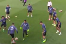 Ronaldo yaptığı Rabona vuruşuyla kendine hayran bıraktı