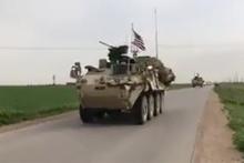 ABD'liler YPG'li teröristlerle devriyede