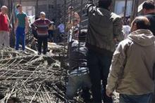 Samsun'da cami inşaatı çöktü: 3 ölü