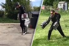 Iron Man'in kostümü gerçeğe dönüştü