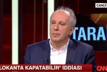 Ahmet Hakan'ın sorusu Muharrem İnce'yi zor durumda bıraktı