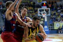 Fenerbahçe - Barcelona Lassa maçından kareler