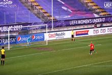 Yeni penaltı atış sistemi ilk kez uygulandı