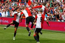 Kuyt attı Feyenoord şampiyon oldu