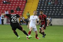 Gaziantepspor Galatasaray maçından kareler