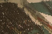 Bursa'da tribünlerde kavga çıktı