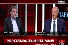 Muharrem İnce'den AK Parti ve Kasım ayıyla ilgili iddia