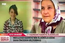 Kaybolan Çiçekler Kadriye Gündeş cinayeti itiraf!