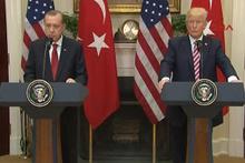 Erdoğan-Trump  konuşmasında  tercüman skandalı