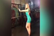 Chloe Serdar Ortaç için dans etti