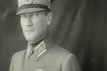 Bilinmeyen görüntüleriyle Atatürk