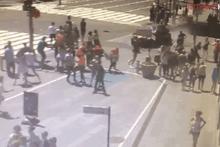 Times Meydanı'nda yaşanan saldırının görüntüleri ortaya çıktı