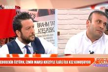 İzmir Marşı'na küfür etti ağlayarak özür diledi