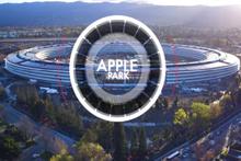 Apple Park'ın son hali havadan görüntülendi