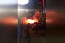 Olympiakos taraftarına polis müdahalesi