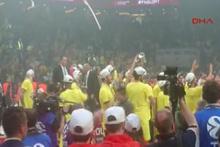 Fenerbahçe Şampiyonluğu böyle kutladı