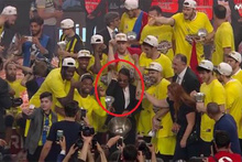Fenerbahçe'nin kupa törenine Nusret damgası!
