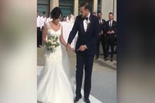 Ümit Erdim'in evlendi! Düğünden görüntüler