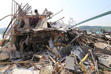 Reina eğlence kulübü tamamen yıkıldı