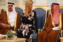 Trump'ın kızı Arap heyetin aklını başından aldı
