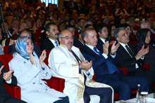 Erdoğan ve Gül yan yana! Hayrunnisa Gül'e dikkat