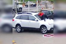 Hırsızı yakalayan kadın sürücü sosyal medyayı salladı