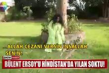 Bülent Ersoy'u yılan soktuğu anın görüntüsü ortaya çıktı