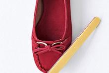 Törpüyle tırnaklarınızı değil ayakkabılarınızı törpüleyin!