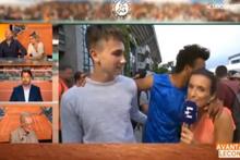 Canlı yayında muhabiri taciz eden Maxime Hamou