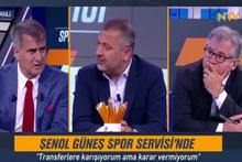 Şenol Güneş  Ntv Spor'da çarpıcı açıklamalarda bulundu