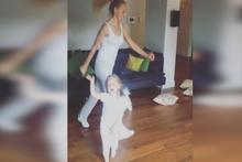 Meryem Uzerli ve kızının videosu beğeni rekoru kırdı