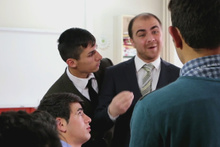 Erzurumlu gençlerden Hababam Sınıfı taklidi!