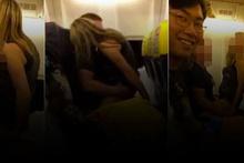Uçakta cinsel ilişki rezilliği! Skandal video ortaya çıktı
