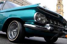 Brezilya'daki klasik otomobil rüzgarı gözleri kamaştırıyor!