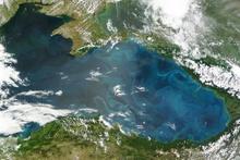 Marmara'daki bu gariplik uzaydan görülüyor NASA açıkladı!