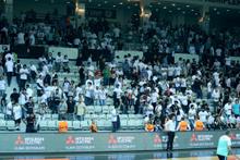 Beşiktaş Sompo-Fenerbahçe maçında olay çıktı!