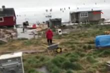 Deprem sonrası  tsunami vurdu