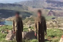 2 teröristin teslim olma anı yeni görüntüler çıktı