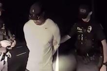 Alkollü araç kullanan Tiger Woods böyle gözaltına alındı