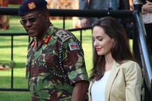 Angelina Jolie Kenya'da