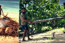 Survivor 2017'de ada hayatı sona erdi! Her şeyi yıkıp ayrıldılar!
