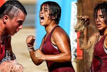 Sabriye, Survivor'da yarışırken arkadaşları kenarda çıldırdı!