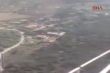 Düşen helikopterde ölüm anını canlı kaydetti