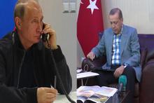 Putin'den Erdoğan'a Türk akımı telefonu ilk yaşandı