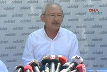 Kılıçdaroğlu yürüyüş öncesi o ülkeye mesaj verdi