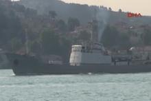 Rus istihbarat toplama gemisi boğazdan geçti