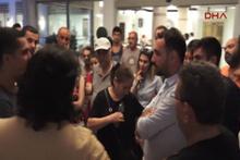 Marmaris'te otel kapısında kalan aileler muhatap bulamadı